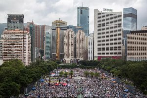 Hong Kong's July 1 Rally As Tensions Continue After White Paper On Hong Kong